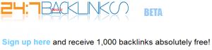 کسب ۱۰۰۰ بک لینک رایگان برای سایت و وبلاگ شما