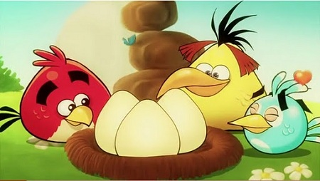 Angry Birds Cartoon clip