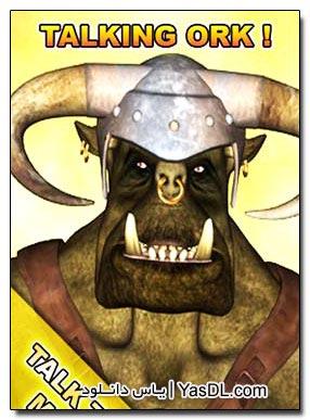 دانلود نرم افزار دیو سخنگو آندروید Talking Ork v.1.4