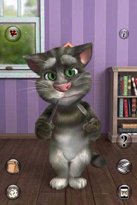 نرم افزار فوق العاده محبوب گربه سخنگو برای آندروید Talking Tom Cat 2 v1.0