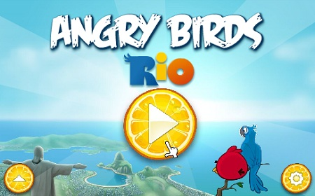 بازی آنلاین انگری بردز ریو Angry Birds Rio