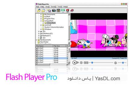 نرم افزار اجرا و مدیریت فایل های فلش Flash Player Pro 4.9.1
