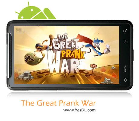 دانلود بازی The Great Prank War v1.0.3 برای اندروید