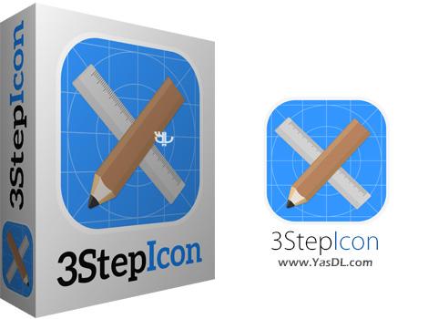 تصویر از دانلود 3StepIcon 1.0 نرم افزار ساخت آیکون در 3 مرحله !