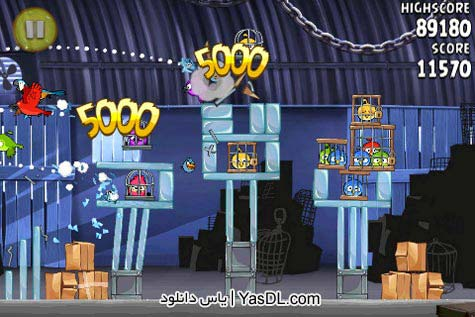 دانلود بازی Angry Birds Rio v1.4.4 برای PC