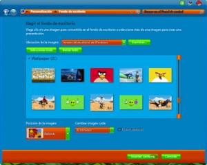 دانلود مجموعه تم های انگری بردز برای ویندوز 7   Angry Birds Skin Pack 1.0