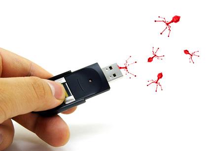 usb drive virus2211112 آموزش 3 ترفند مفید برای جلوگیری از ویروسی شدن فلش مموری USB