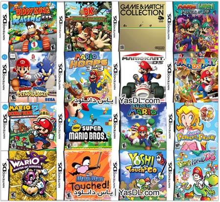 دانلود بیش از 750 بازی میکرو (نینتندو) برای کامپیوتر Nintendo Game For PC با حجم کم