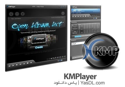 KMPlayer 4.2.2.12 Final + Portable - Video Player For Playing Audio And Video