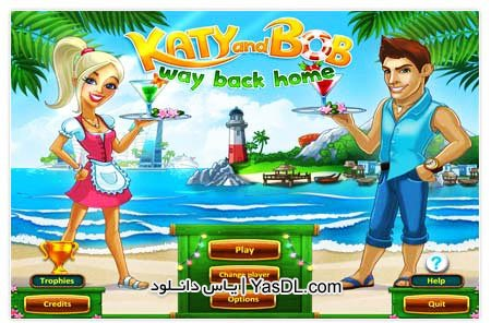 دانلود بازی مدیریت رستوران Katy and Bob Way Back Home برای کامپیوتر