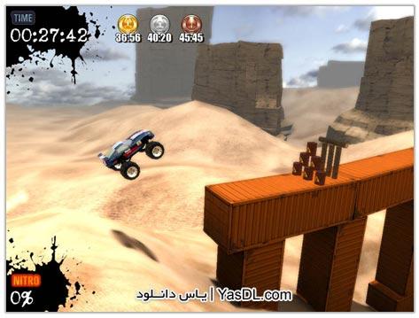 دانلود بازی کم حجم رالی ماشین های سنگین Monster Truck Challenge