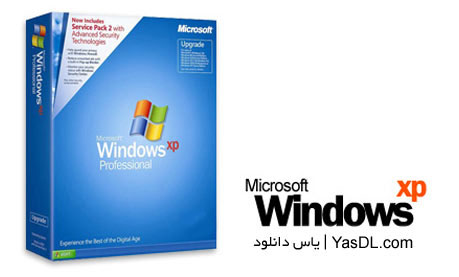دانلود ویندوز XP Microsoft Windows XP Professional SP3 January 2015