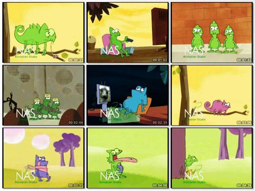 دانلود انیمیشن کوتاه کمدی و خنده دار ایرانی حیات وحش   آفتاب پرست   قسمت دوم
