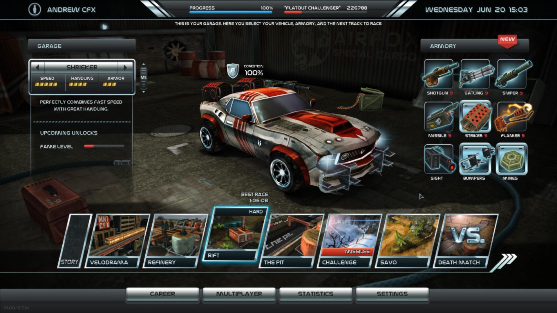 Nascar Racing Games >> دانلود بازی Death Rally 2012 - بازی ماشین جنگی برای PC   یاس دانلود