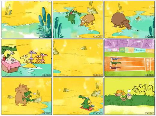 دانلود انیمیشن کوتاه کمدی و خنده دار ایرانی حیات وحش   کروکوندیل   قسمت سوم