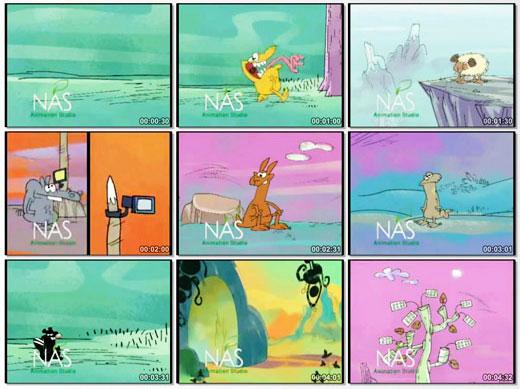 دانلود انیمیشن کمدی و خنده دار ایرانی حیات وحش پالاگالوس (انقراض)   قسمت اول