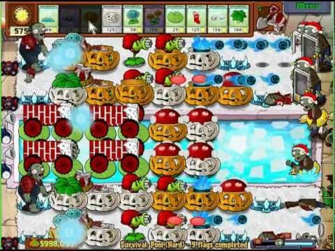 دانلود بازی گیاهان علیه زامبی ها نسخه کریسمس Plants VS Zombies Xmas Mod