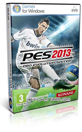 دانلود بازی PES 2013 نسخه نهایی و کامل برای PC + نسخه BlackBox