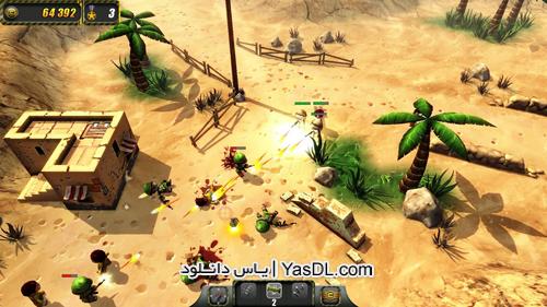 Tiny Troopers S2 - دانلود بازی کم حجم و استراتژیکی سربازان کوچک Tiny Troopers برای PC