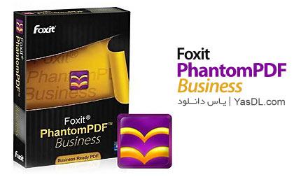 دانلود Foxit PhantomPDF Business 7.1.5.0425 - نرم افزار ویرایش فایلهای PDF