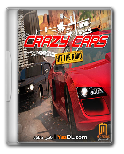 دانلود بازی کم حجم و مهیج ماشین های دیوانه Crazy Cars: Hit The Road برای PC