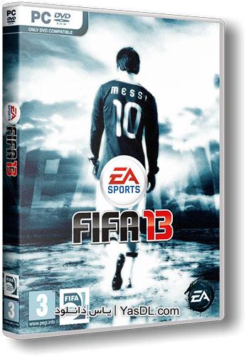 دانلود بازی Fifa 13 - بازی فیفا 13 نسخه BlackBox برای PC