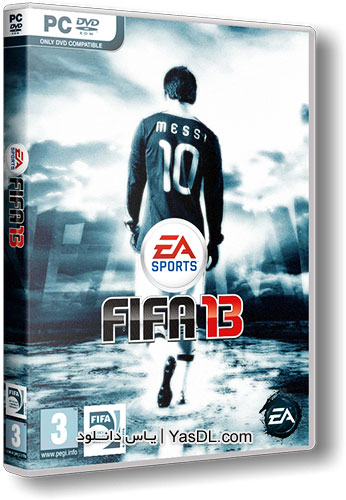 دانلود بازی فیفا 13   Fifa 13 نسخه نهایی برای PC + نسخه BlackBox