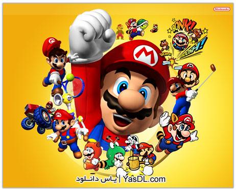 دانلود مجموعه 45 بازی سوپر ماریو Super Mario Games Collection برای PC