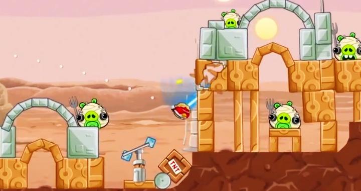 دانلود بازی Angry Birds Star Wars 1.1.3 + 1.1.2 HD برای آندروید