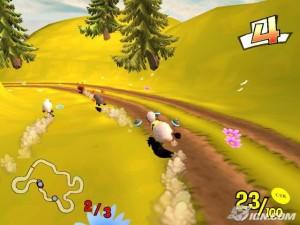 دانلود بازی کم حجم و مهیج رالی گوسفندها Champion Sheep Rally برای PC