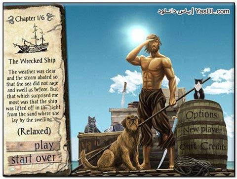 دانلود بازی فکری و جذاب Adventures of Robinson Crusoe برای PC