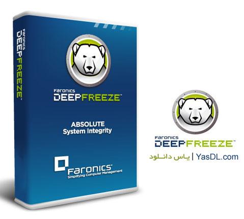 دانلود نرم افزار فریز کردن ویندوز+ Deep Freeze  نسخه جدید