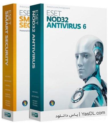 دانلود آنتی ویروس نود 32   ESET NOD32 Antivirus 6.0.308.0 Final