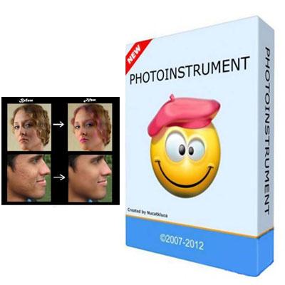 دانلود نرم افزار روتوش حرفه ای و آسان عکس با Photoinstrument v4.7
