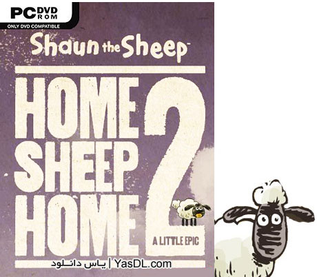 دانلود بازی Shaun The Sheep Home Sheep Home 2