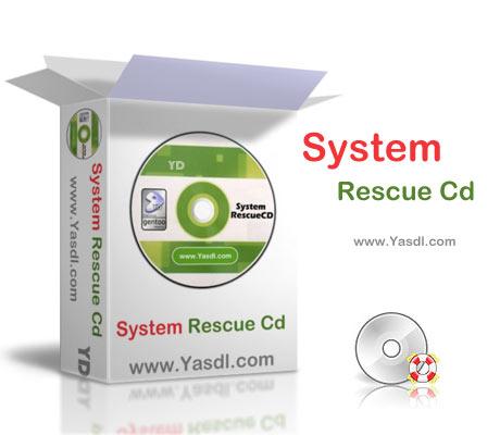 دانلود SystemRescueCD دیسک بوت بازیابی اطلاعات