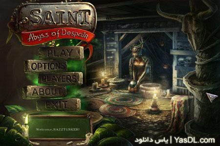 دانلود بازی ترسناک و فکری جن گیر The Saint   Abyss of Despair برای PC