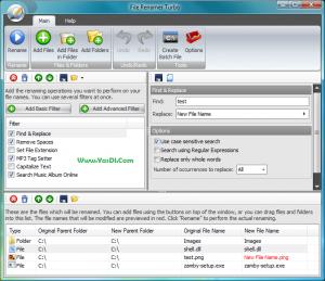 دانلود File Renamer Turbo نرم افزار تغییر نام گروهی فایل ها
