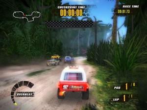 دانلود بازی Jungle Racers   بازی ماشین مسابقه ای در کوهستان برای PC