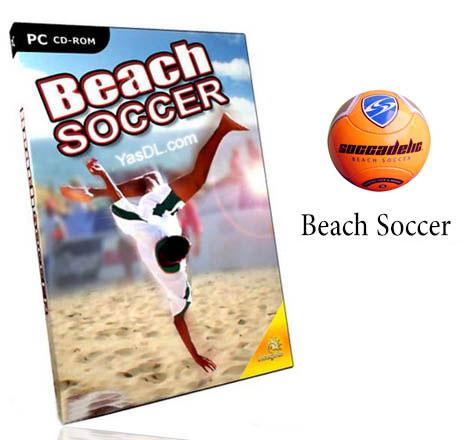 دانلود بازی Beach Soccer - بازی کم حجم و زیبای فوتبال ساحلی برای PC