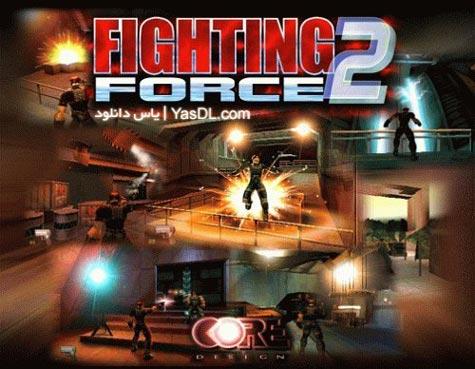 دانلود بازی Fighting Force 2   بازی شورش در شهر پلی استیشن برای PC