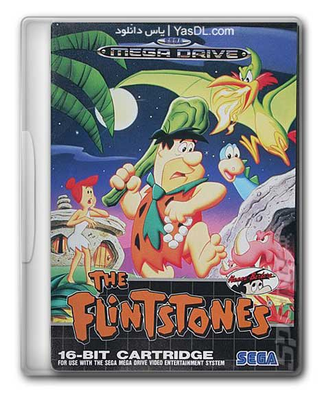 دانلود بازی عصر حجر The Flintstones سگا برای کامپیوتر