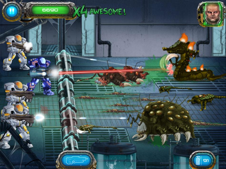 Humans Vs Aliens Online Games - flasharcadegamessite.com