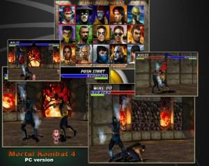 دانلود بازی Mortal Kombat 4   بازی مورتال کمبات 4 برای PC
