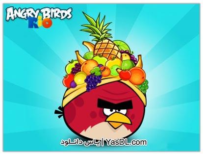 دانلود بازی Angry Birds Rio 2.6.0 برای آندروید + نسخه بی نهایت