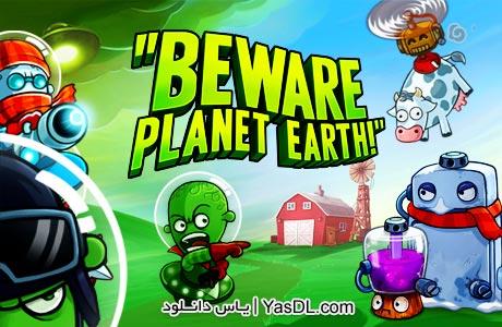 دانلود بازی Beware Planet Earth - بازی کم حجم و استراتژیک دفاع از زمین