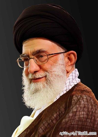 دانلود تصویر استوک رهبر معظم انقلاب و امام خمینی (ره)