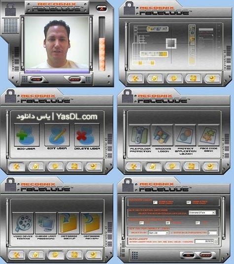 دانلود نرم افزار FaceCode نرم افزار تشخیص چهره به جای کلمه عبور