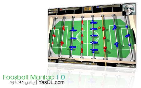 دانلود بازی Foosball Maniac   بازی فوتبال دستی کم حجم برای PC