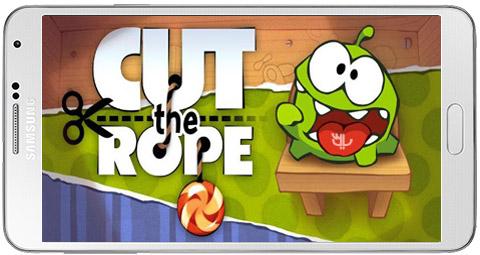 دانلود بازی Cut the Rope HD FULL برای اندروید + نسخه بی نهایت